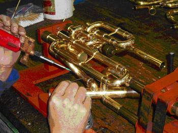 Blechblasinstrumentenbauer